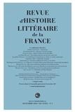 [collectif] - Revue d'Histoire littéraire de la France. 3 - 2018, 118e année - n° 3 - Les chiffonniers littéraires.