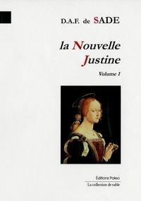 (de) d a f. Sade - La Nouvelle Justine, volume 1.