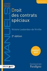 - de virville victoire Lasbordes - Droits des contrats spéciaux.