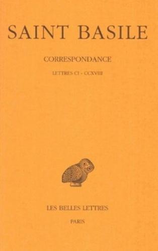 (saint) Basile et Y. Courtonne - CORRESPONDANCE TOME 2 / SAINT BASILE.