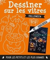 1, 2, 3 soleil ! - Dessiner sur les vitres Halloween - Avec 1 feutre.