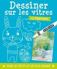 Dessiner sur les vitres- Le printemps. Avec 1 tuto, 1 feutre craie, 6 posters -  1, 2, 3 soleil ! | Showmesound.org