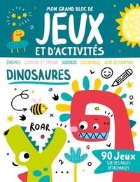 1, 2, 3 soleil ! - Dinosaures - 90 jeux sur des pages détachables.