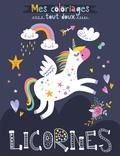 1, 2, 3 soleil ! - Licornes - Mes coloriages tout doux.