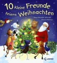 10 kleine Freunde feiern Weihnachten.