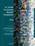 15th Guide to German Biotech Companies 2013.