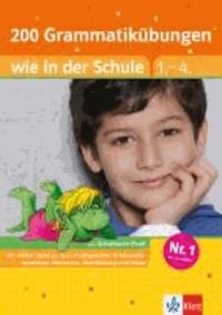 200 Grammatikübungen wie in der Schule Deutsch 1.-4. Klasse.