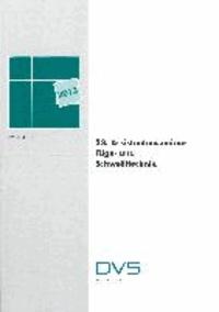 33. Assistentenseminar Füge- und Schweißtechnik.