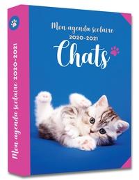 365 Editions - Mon agenda scolaire Chats 2020-2021.