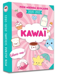 365 Editions - Mon agenda scolaire Kawaï colorie-moi 2020-2021.