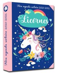 365 Editions - Mon agenda scolaire Licornes 2020-2021.