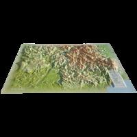 Carte en relief des Alpes de Haute Provence - 1/370 000.pdf