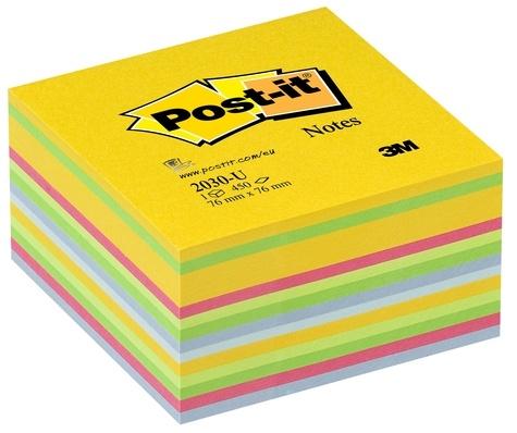 3M - Cube de notes Post It - Light Energie