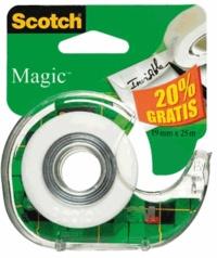 3M - Dévidoir rouleau de ruban adhésif Scotch Magic