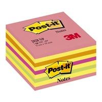 3M FRANCE - RDC Cube de notes Post-it Energie intense 76x76mm 450 feuilles