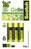 3M - Lot de 2 sticks de colle naturelle + 1 gratuit