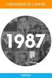 Éditions Chronique - Chronique de l'année 1987.