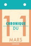 Éditions Chronique - Chronique du 11  mars.