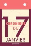 Éditions Chronique - Chronique du 17  janvier.