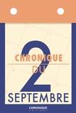 Éditions Chronique - Chronique du 2 septembre.