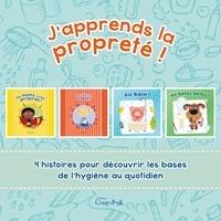 Éditions Coup d'oeil - J'apprends la propreté ! - 4 petites histoires parfaites pour apprendre la propreté !.