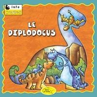 Éditions de l'Envolée - Dinosaures  : Le diplodocus.