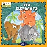 Éditions de l'Envolée - Animaux sauvages  : Les éléphants.