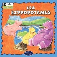 Éditions de l'Envolée - Animaux sauvages  : Les hippopotames.