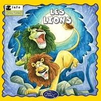 Éditions de l'Envolée - Animaux sauvages  : Les lions.