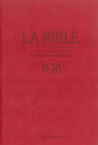 Éditions du Cerf - La Bible TOB - Notes intégrales, traduction oecuménique.