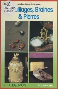 Éléonore de Bizemont - Objets à faire soi-même en coquillages, graines et pierres.