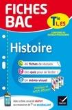 Élisabeth Brisson et Florence Holstein - Fiches bac Histoire Tle L, ES - fiches de révision   Terminale L, ES.