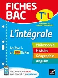 Élisabeth Brisson - Fiches bac L'intégrale Tle L - le bac L en 180 fiches de révision.