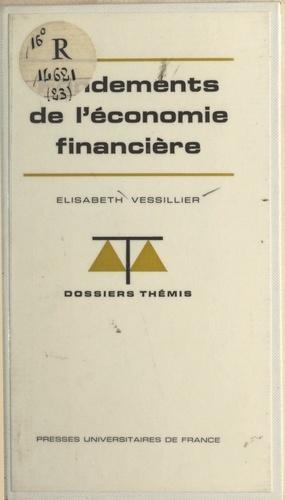 Fondements de l'économie financière
