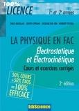 Émile Amzallag et Joseph Cipriani - Électrostatique et électrocinétique 1re et 2e années - 2e éd. - Cours et exercices corrigés.