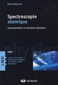 Émile Biémont - Spectroscopie atomique - Instrumentation et structures atomiques.