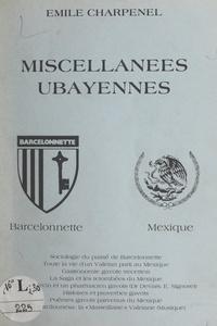Émile Charpenel - Miscellanées ubayennes.