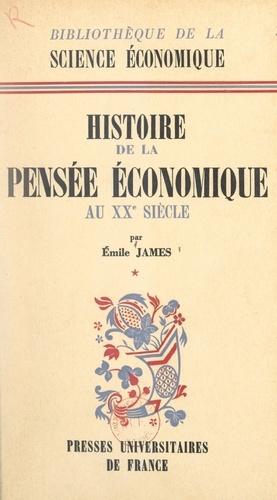 Histoire de la pensée économique au XXe siècle (1). De 1900 à la théorie générale de J. M. Keynes 1936