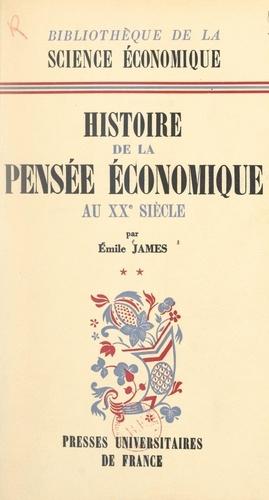 """Histoire de la pensée économique au XXe siècle (2). Après la """"Théorie générale"""" de J. M. Keynes, 1936"""