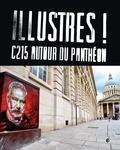 Émilie Poirrier et Christian Guémy - Illustres ! - C215 autour du Panthéon.