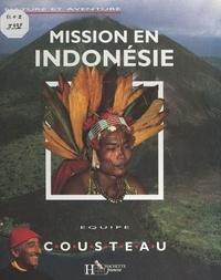 Équipe Cousteau et Thierry Piantanida - Mission en Indonésie.