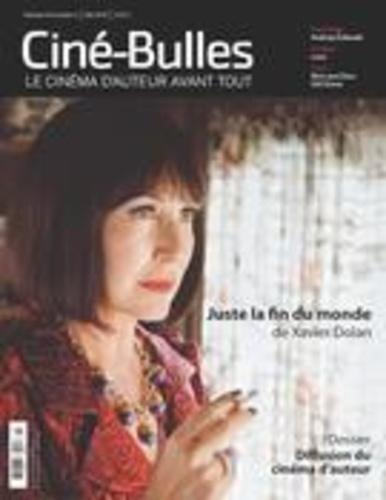 Éric Perron et Zoé Protrat - Ciné-Bulles. Vol. 34 No. 3, Été 2016 - Dossier Diffusion du cinéma d'auteur.