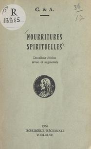 A. et  G. - Nourritures spirituelles.