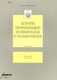 A Afonso et Christiane Joffin - Activités technologiques en hématologie et en immunologie Tle BGB.