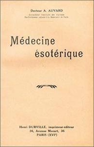 A Auvard - Médecine ésotérique.