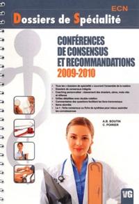 A.B. Boutin et C Poirier - Conférences de consensus et recommandations 2009-2010.