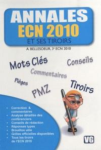 Accentsonline.fr Annales ECN 2010 et ses tiroirs Image