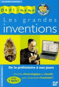 Histoiresdenlire.be Les grandes inventions - De la préhistoire à nos jours Image