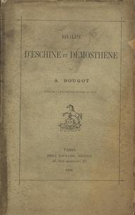 A Bougot - Rivalité d'Eschine et Démosthène.