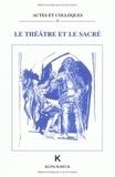 A Bouvier - Le théâtre et le sacré.